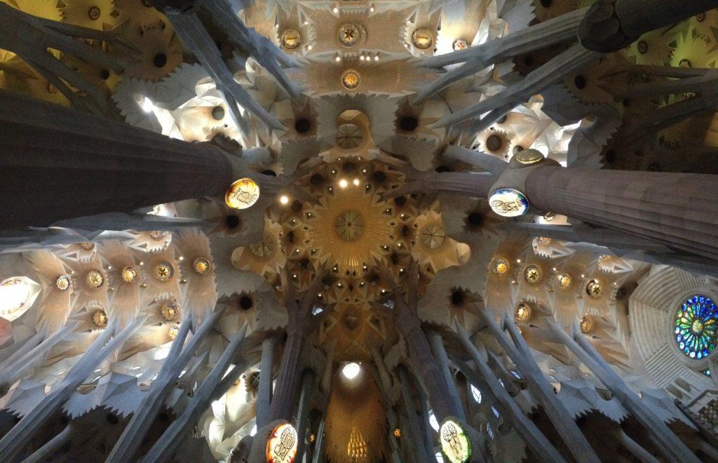 La Sagrada Familia - Photo taken by the author